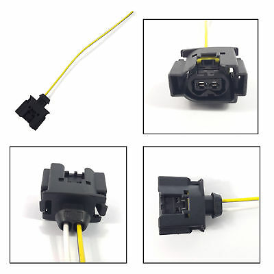 INJECTOR EXTENSION WIRING HARNESS LOOM, SIDE LOCKED SYSTEM 2 PIN CONNECTOR