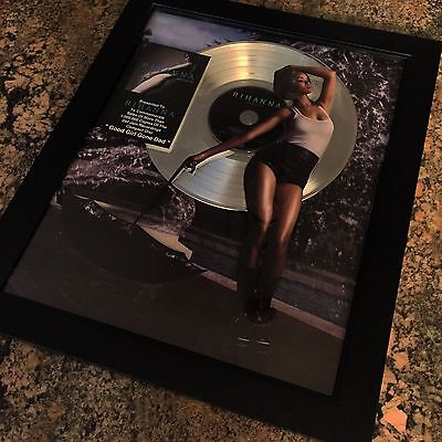Rihanna Good Girl Gone Bad Platinum Record Album Music Award MTV Grammy RIAA