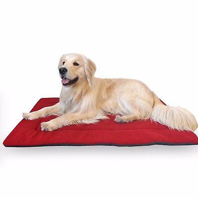 - Comfort Pet Nap and Crate Mat Blue Red Maroon Green Tan Fiesta Plush XS,S,M,L,XL