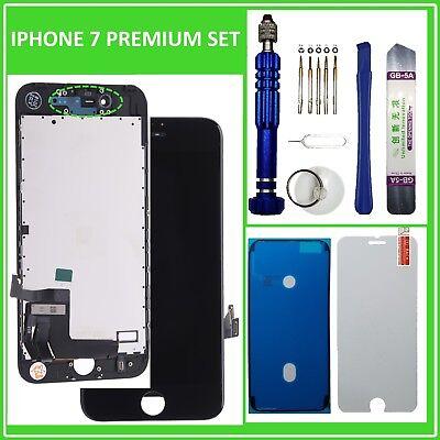 Ersatz Display für iPhone 7 LCD Retina Glas 3D Touch Screen Bildschirm Schwarz