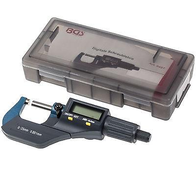 Digital Mikrometer 25 MM LCD Mikrometerschraube  Bügelmessschraube Messschraube