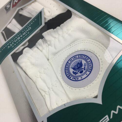 RARE George W. Bush PRESIDENTIAL SEAL Wilson Staff Grip TI Golf Glove XXL LEFT