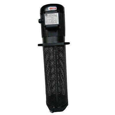 14hp Filtered Coolant Pump 3ph 220440v 350 Mm 13.8 Npt 12 Lathe Cnc