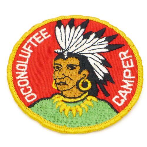 Boy Scout  Oconoluftee Camper Camp Patch BSA