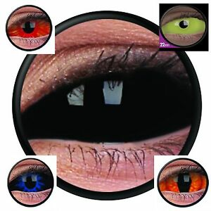 Lentille sclera de couleur contact us halloween lens complete full