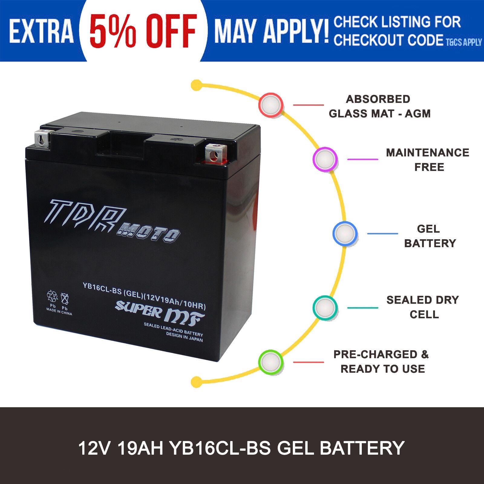 YB16CL-B High Performance Sealed YuMicron 12 Volt Battery YB16CLB
