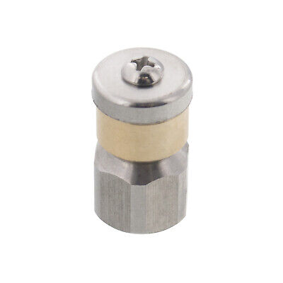 Erie Tools Rotating 14 Sewer Jetter Nozzle For Drain Cleaning 3.0 Orifice