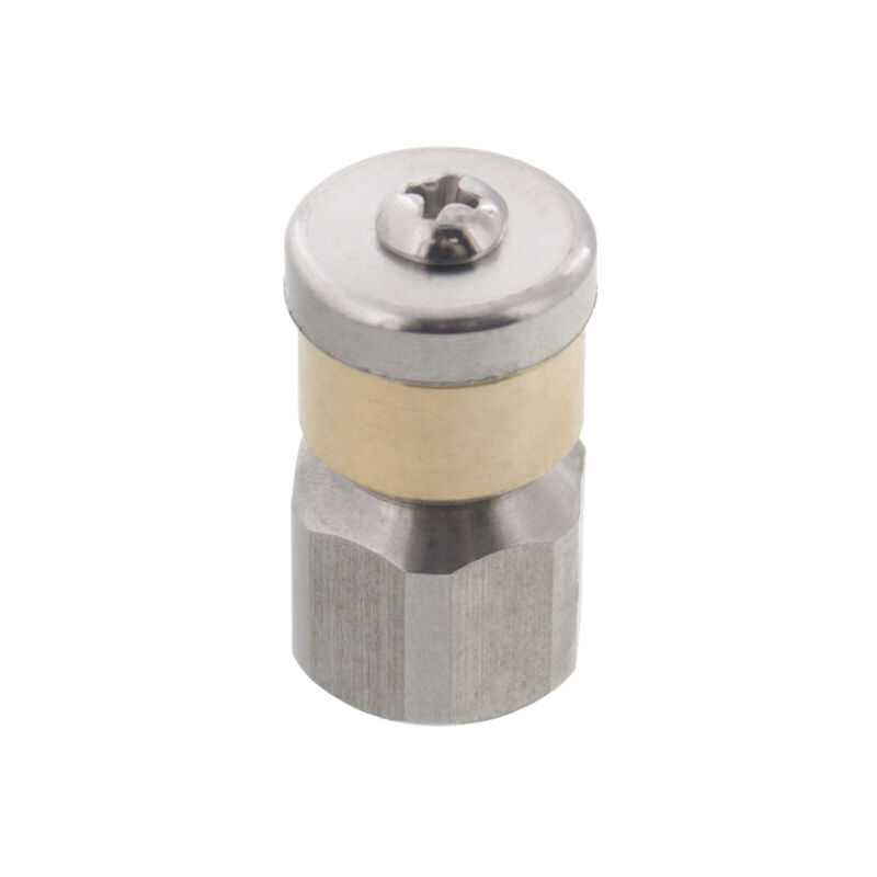 """Erie Tools Rotating 1/4"""" Sewer Jetter Nozzle for Drain Cleaning 3.0 Orifice"""