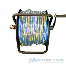 Hose reel- Manual Hose reel - 50m hose with Nitto Fittings. Kenwick Gosnells Area Preview