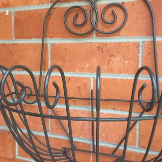 Large Metal Wall Mounted Plant Holder