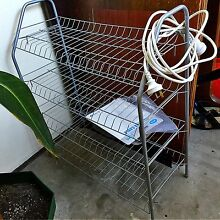 *moving out sale* metallic shoe rack Elwood Port Phillip Preview