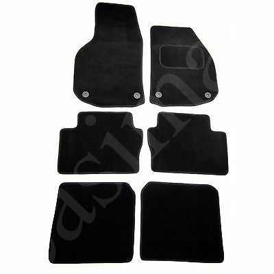 Car Parts - Vauxhall Zafira B Mk2 2006 - 2011 Tailored Carpet Car Mats Black 6pc Floor Set