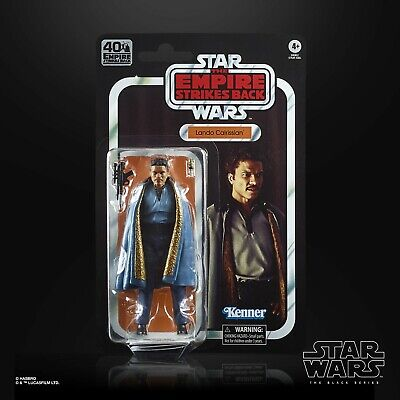Star Wars Black Series 40th Anniversary Wave 2: Lando Calrissian (Ep. 5 The Empi