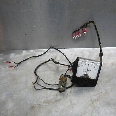 Diebold Voltage Volt Milliamps Meter Amp 0-15 Volt Simpson Gauge Analog Vintage