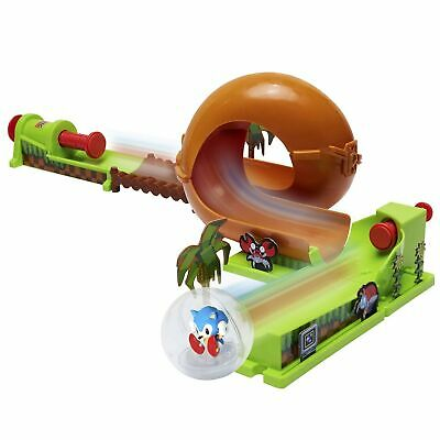 Sonic The Hedgehog PINBALL TRACK SET Toy