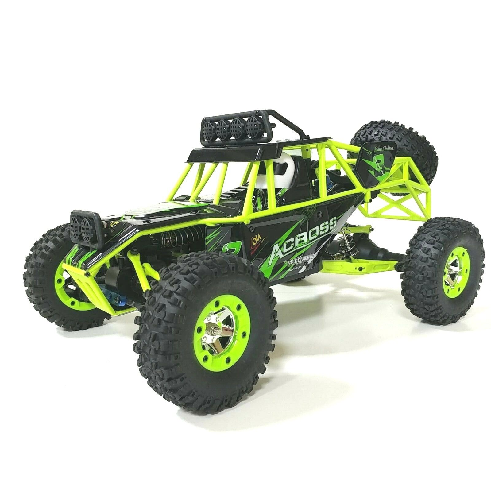 Wltoys 12428 4WD RTR Rock Crawler/racer. FREE ADDITIONAL LED BAR. USA Dealer. - $84.95