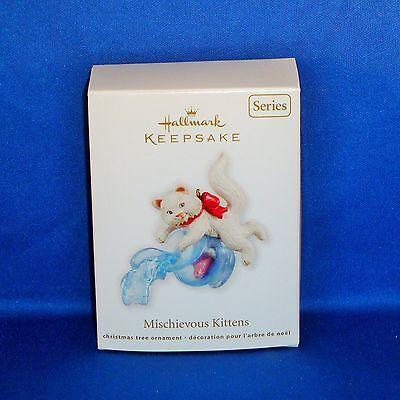 Hallmark - 2012 Mischievous Kittens #14 - Keepsake Christmas Ornament - NEW