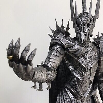 """SAURON Custom Printed Resin Statue ~ 15"""" Tall THE LORD OF THE RINGS The One Ring"""