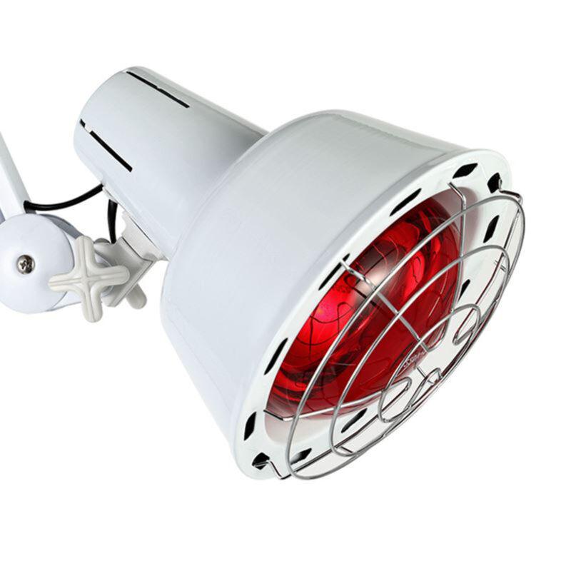 Infrarot Lampe Infrarotlampe Strahler Wärmelampe Rotlicht Lampe mit Rädern