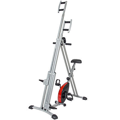 BCP 2 in 1 Vertical Climber Machine and Exercise Bike -