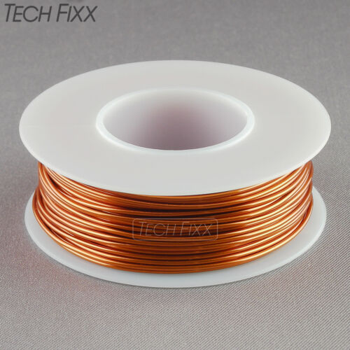 Magnet Wire 18 Gauge AWG Enameled Copper 50 Feet Coil Winding & Crafts 4oz 200C