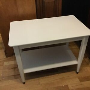 Assorted single side tables