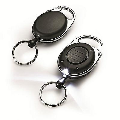 DURABLE Jojo Schlüsselhalter 8198 Ausweishalter Schlüsselanhänger mit LED