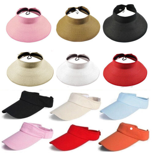 Damen Basecap Sonnenhut Sunvisor Mützen Hüte Stirnband Sonnenschutz Cap Kappe