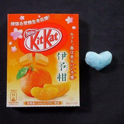 Nestle KitKat 2017 Iyokan (Japanese Mandarin Orange) Chocolate 3 pieces Japan