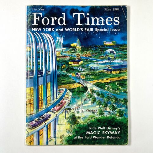 Ford Times - May 1964 , New York World