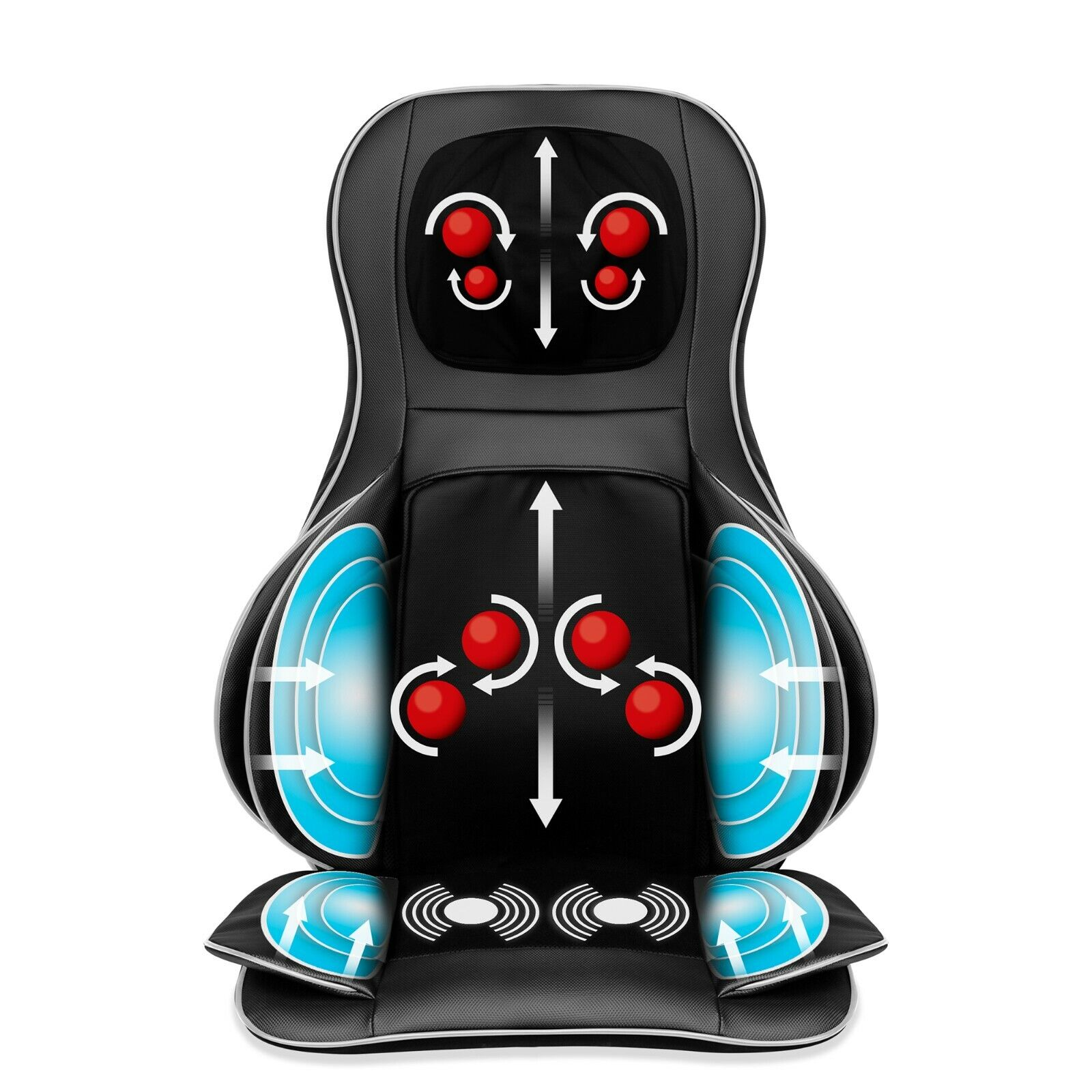 shiatsu neck and back massager 2d 3d