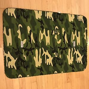 Camo baby car seat cover