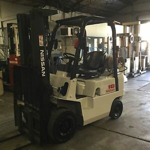 Great bargain Nissan 1.8ton container mast Lidcombe Auburn Area Preview