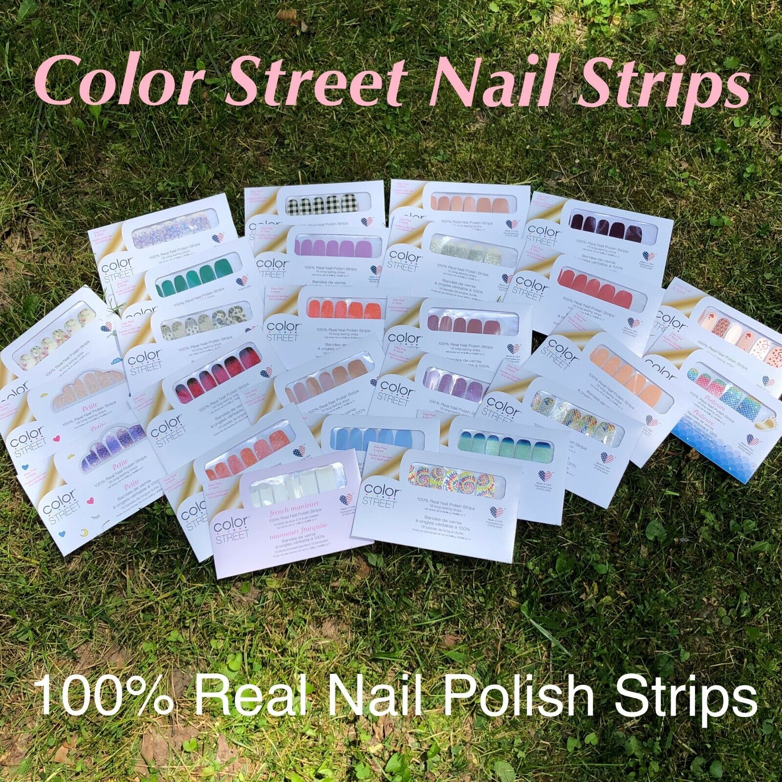 B3G1 SALE! ~ Color Street Nail Strips ~ 100% Nail Polish Strips ~ FAST Shipping!