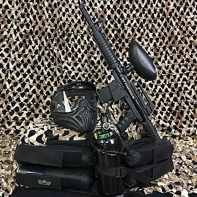 NEW Empire Battle Tested BT Omega LEGENDARY Paintball Gun Package Kit - Black