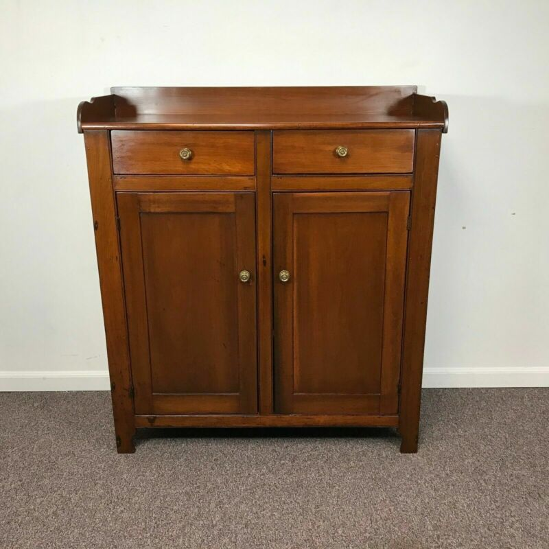19th Century Pine Jelly Cabinet