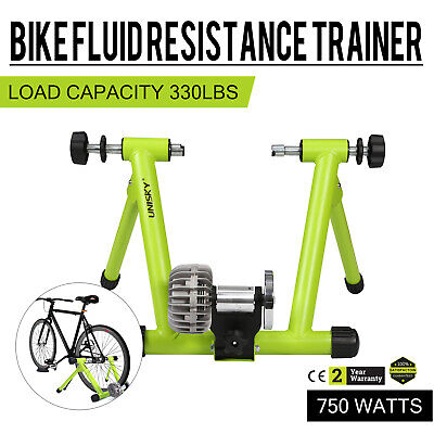 Bicycle Trainer Stationary Fluid Bike Cycle Stand Indoor Exe