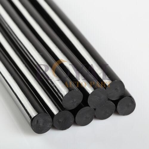 "10 x Hot Melt Glue Stick 7/16"" X 10"" Black Auto ABS"