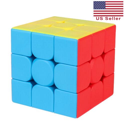 MoYu MeiLong 3x3 Stickerless Speed Cube Puzzle Toy Twist Magic World Record NEW