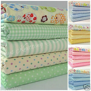 Nellie elephant childrens nursery fat quarter bundles 100 for Nursery fabric sale