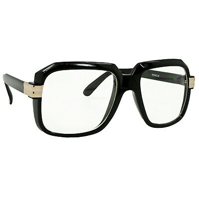 Adult 80's Old School Rapper HIP HOP DJ Hipster Cosplay Costume Glasses - Old School Hip Hop Costumes