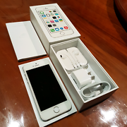 iPhone 5s 16GB AS NEW condition, white, unlocked + accessories Upper Mount Gravatt Brisbane South East Preview