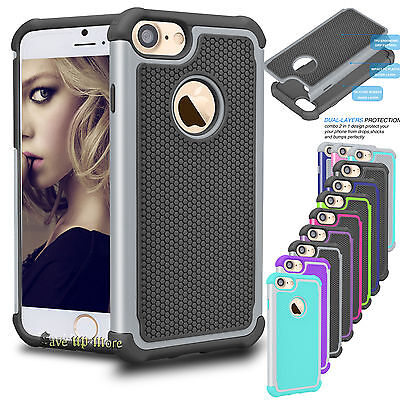 Armor Impact Defender PC Shockproof Hard Case Cover For iPhone 6 6s 7 Plus