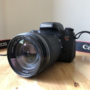 Canon t6s like brand new!