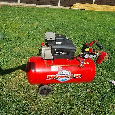 Clark  Air Compressor 50L  2.5hp  single phase  used
