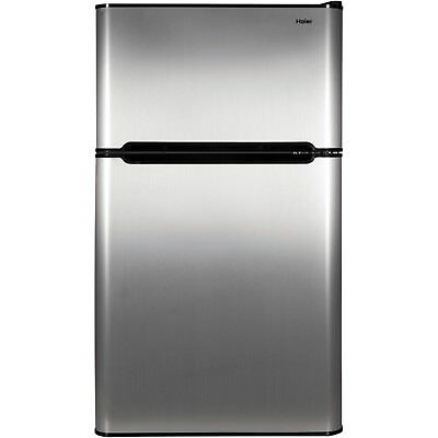 Mini Fridge Freezer Compact 2 Door Refrigerator College Dorm Room Beer Soda Food