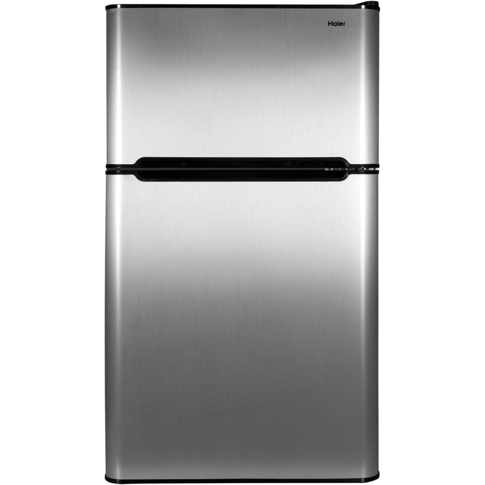 Mini Fridge Freezer Compact Refrigerator 2 Door College Dorm