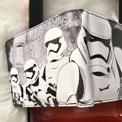 STAR WARS Rule The Galaxy WALLET THE FORCE AWAKENS STORM TROOPER New In Box