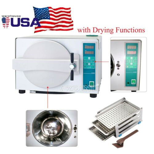 Autoclave Steam Sterilizer with Drying Function 18L UPS Fast Freeship
