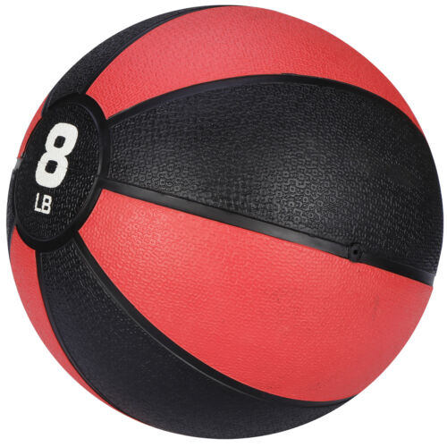 Pro Workout Weighted Easy Grip Medicine Ball Body Balance Sport Equipment 8lbs Exercise Balls